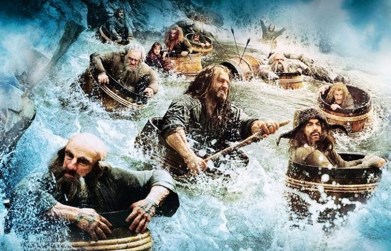 dwarves in a barrel: Desolation of Smaug