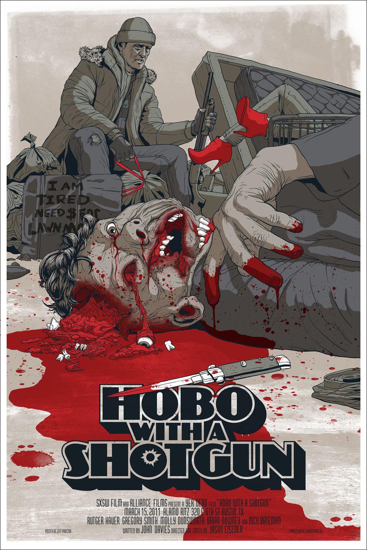 Hobo With A Shotgun Mondo Poster 01