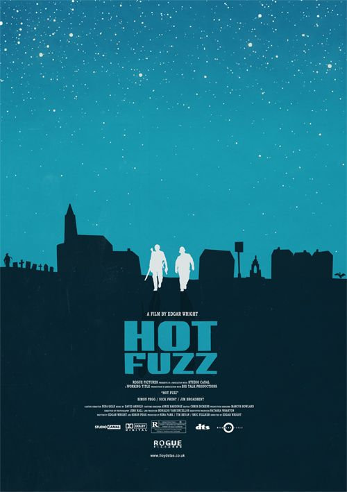 Llyod Stas Poster for Hot Fuzz