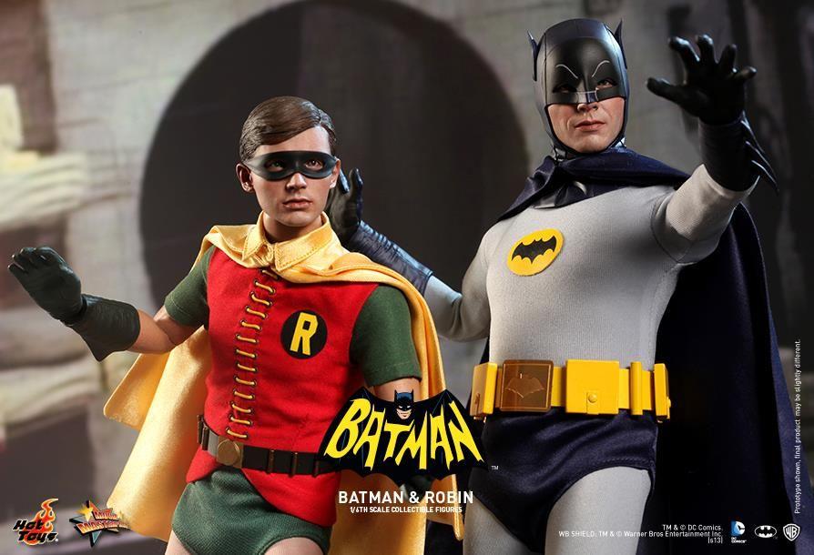 Hot toys 1960s batman collectibles figures collider - Image de batman et robin ...