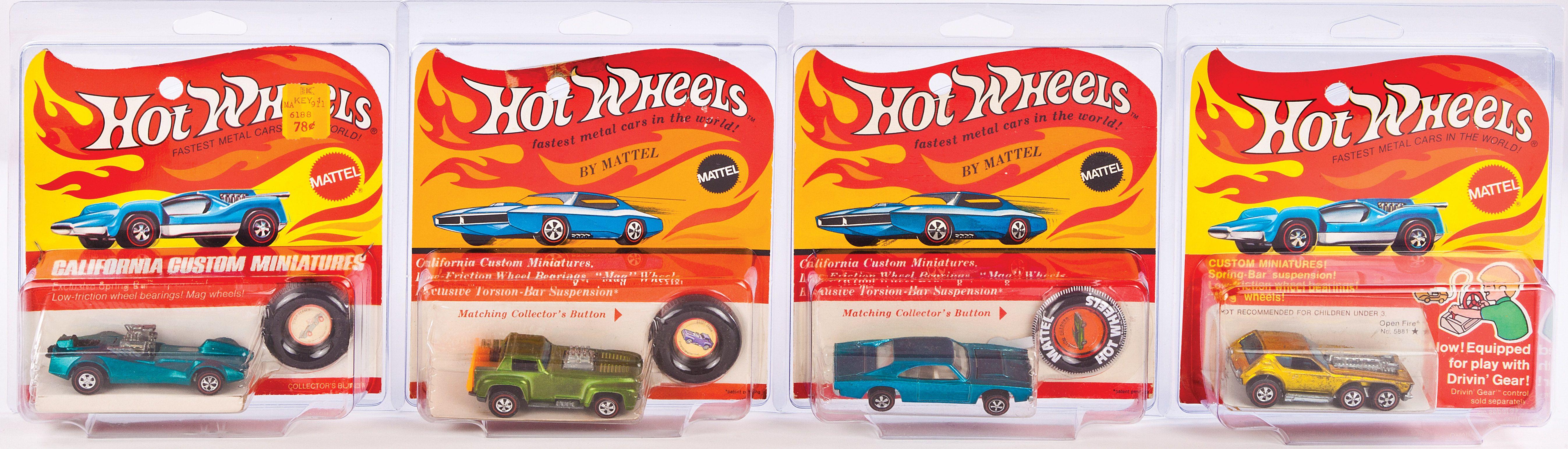 Old German Made Hot Wheels Cars