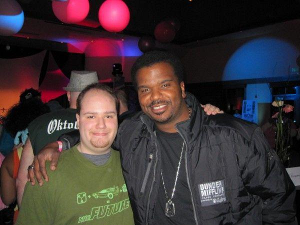 Me and Craig Robinson