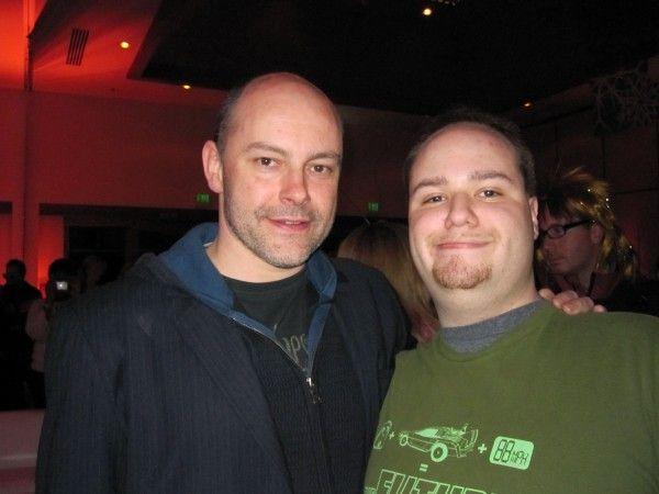 Me and Rob Corddry