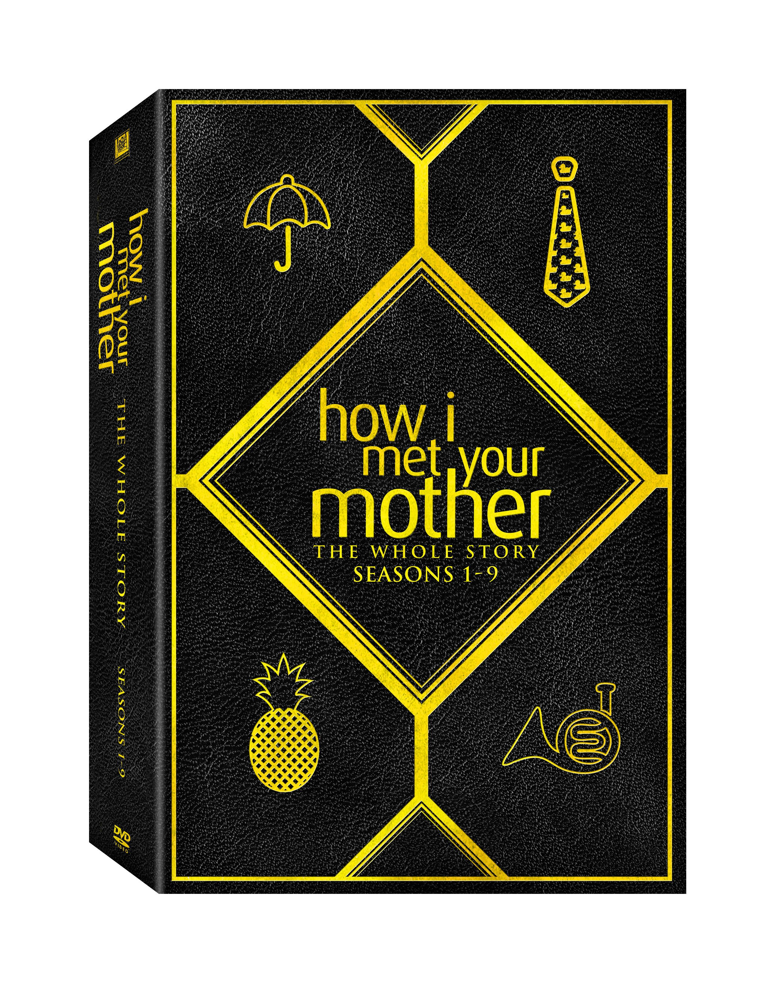 how i met your mother complete series dvd release date and. Black Bedroom Furniture Sets. Home Design Ideas