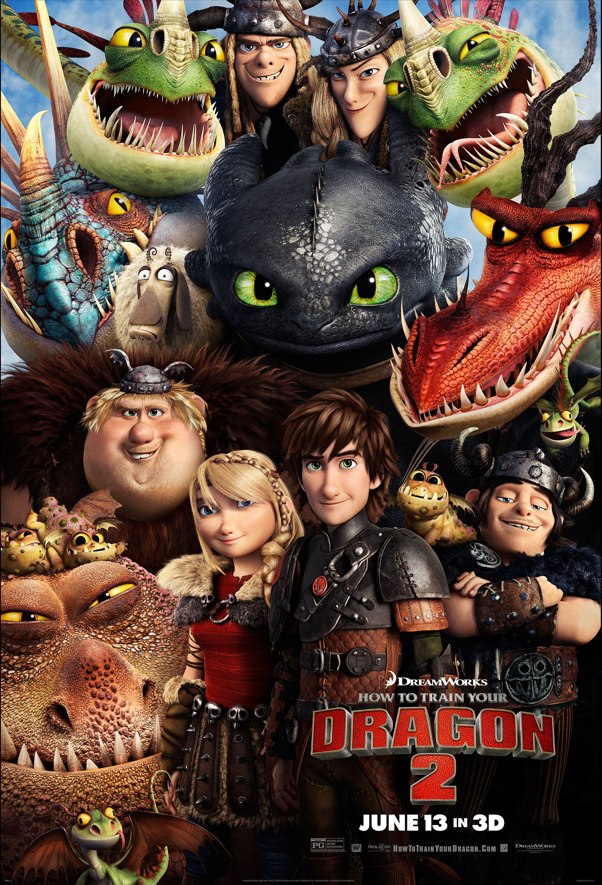 Watch 5 HOW TO TRAIN YOUR DRAGON 2 Movie Clips | Collider