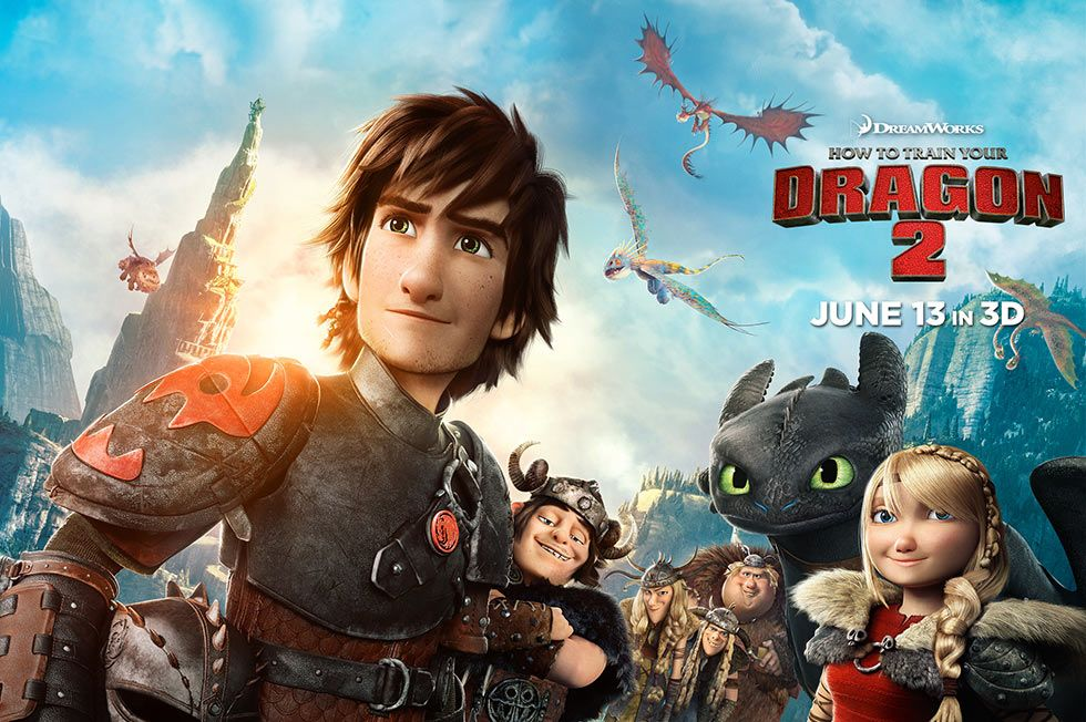 How to train your dragon 2 trailer and poster collider how to train your dragon 2 trailer poster ccuart Image collections