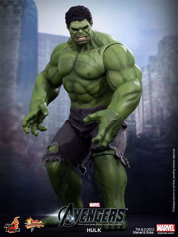 Hot Toys Hulk From The Avengers Collider