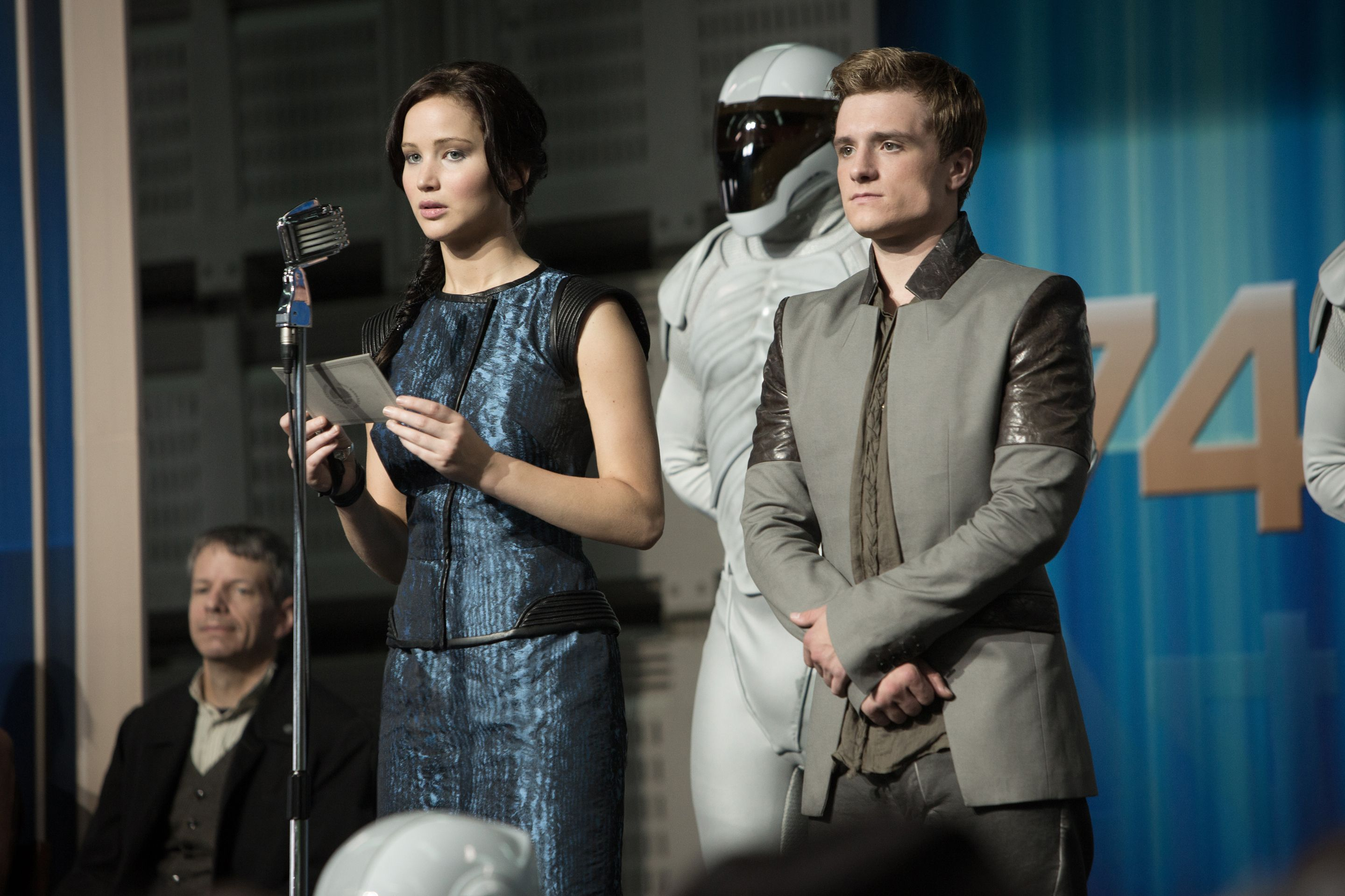 the hunger games: catching fire poster and images | collider