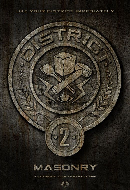 The Hunger Games District Posters Collider