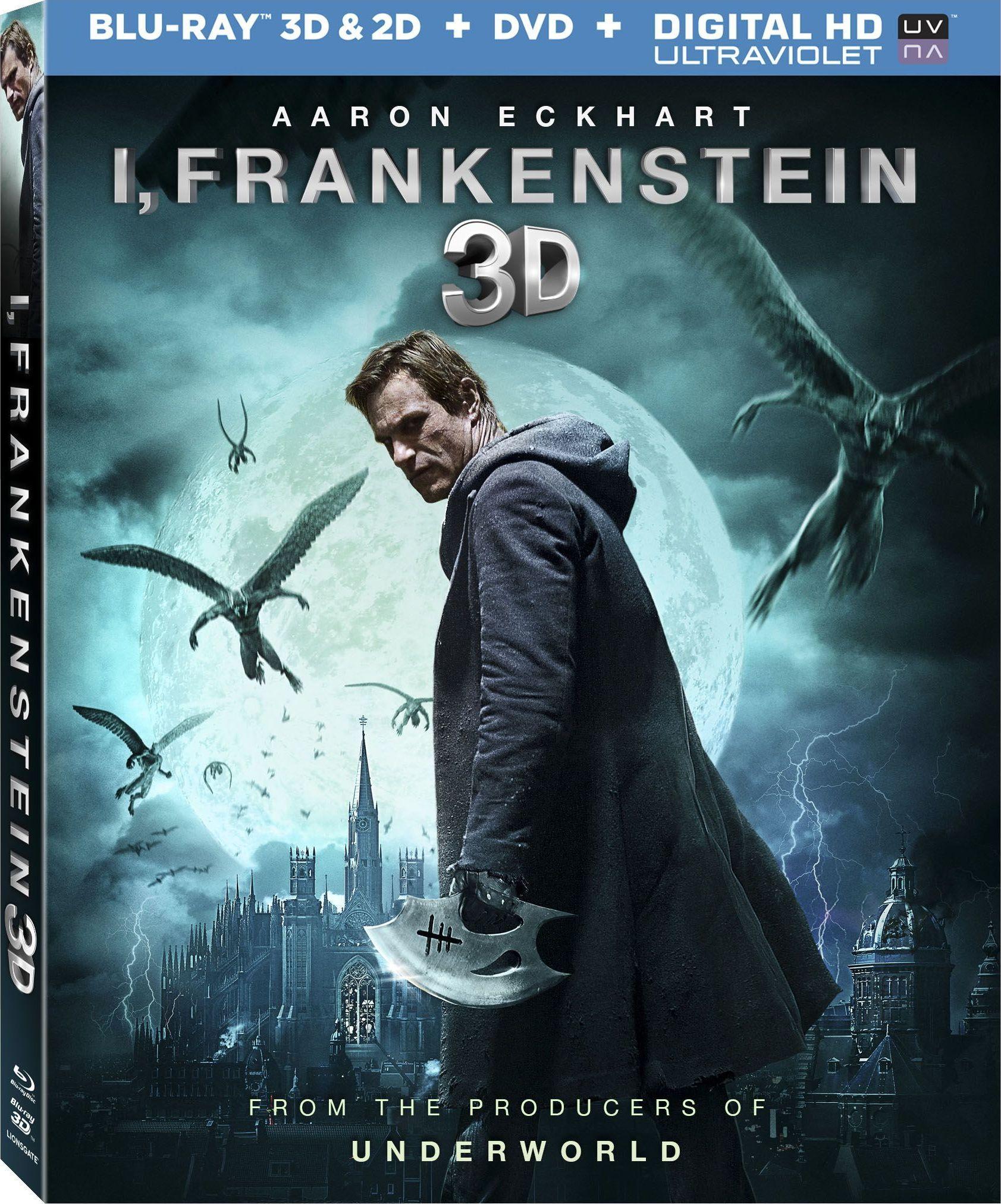 i, frankenstein blu-ray review | film stars aaron eckhart | collider