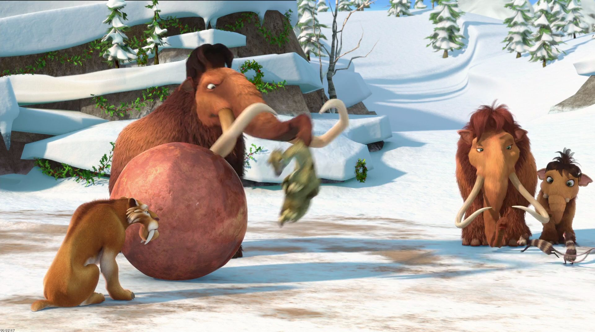 ICE AGE: A MAMMOTH CHRISTMAS Blu-ray Review | Collider