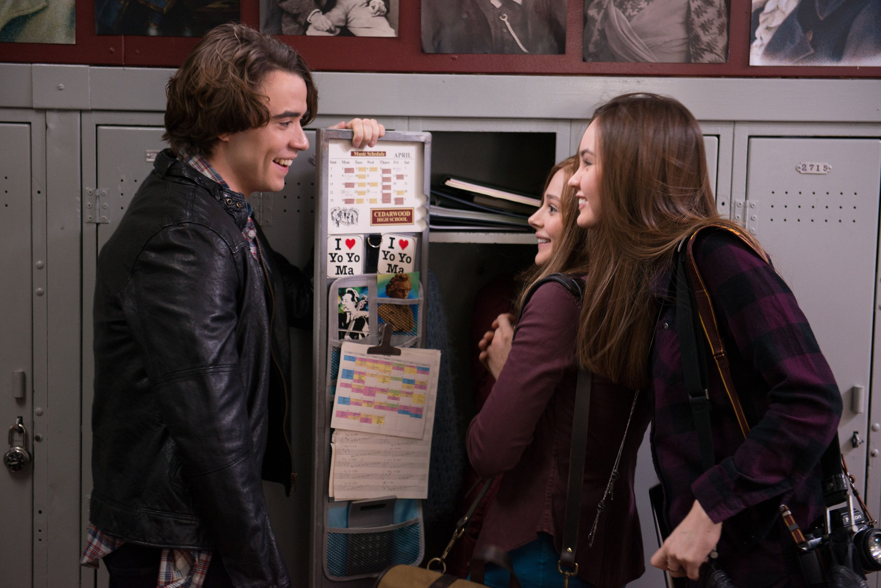 If I Stay Images Featuring Chloe Moretz Jamie Blackley And Liana