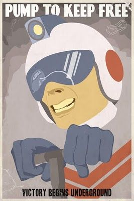 illustrator-steve-thomas-classic-video-game-poster-dig-dug