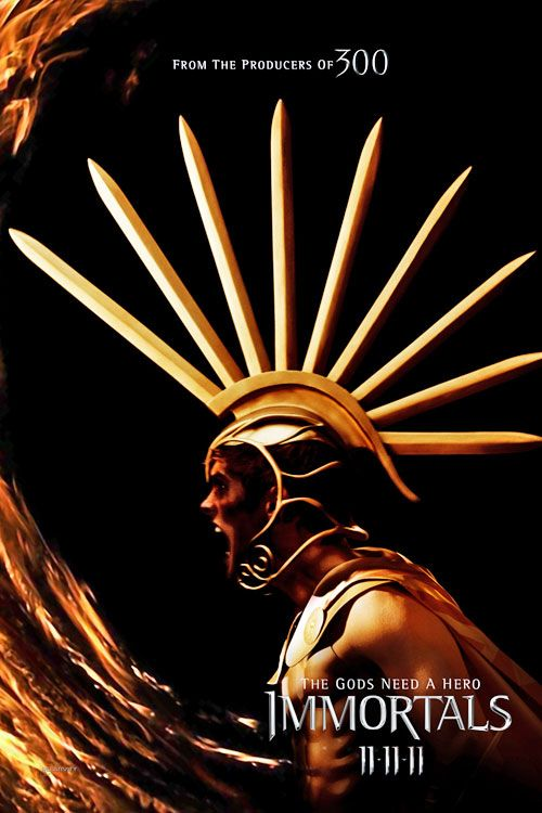 Immortals Movie Poster Immortals Movie Poster Aries