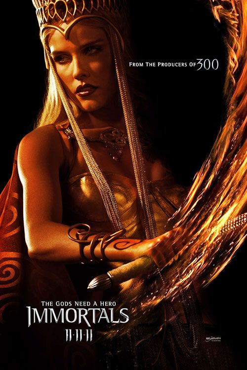 Immortals Movie Cast Immortals Movie Poster Athena
