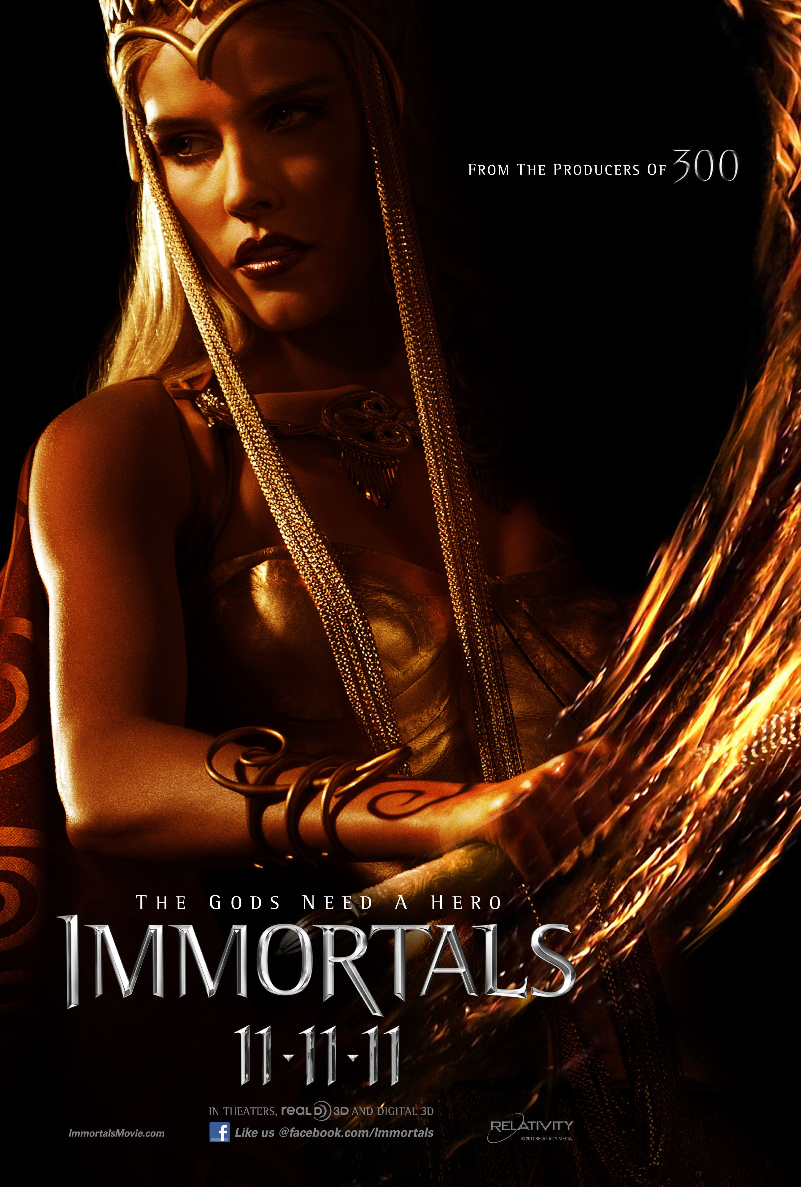 Immortals Movie Poster Immortals Movie Poster Athena