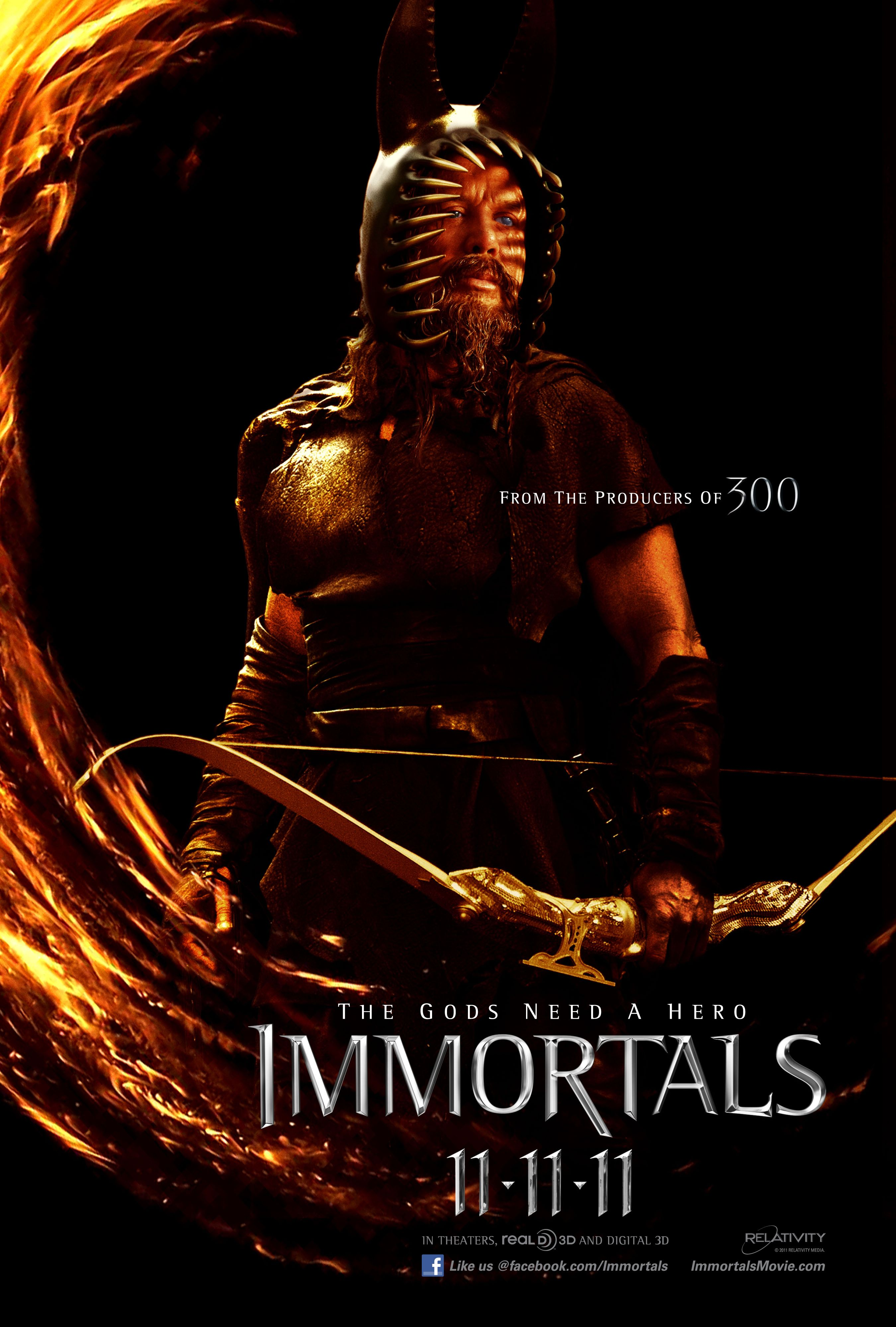 Immortals Movie Poster Immortals Movie Poster