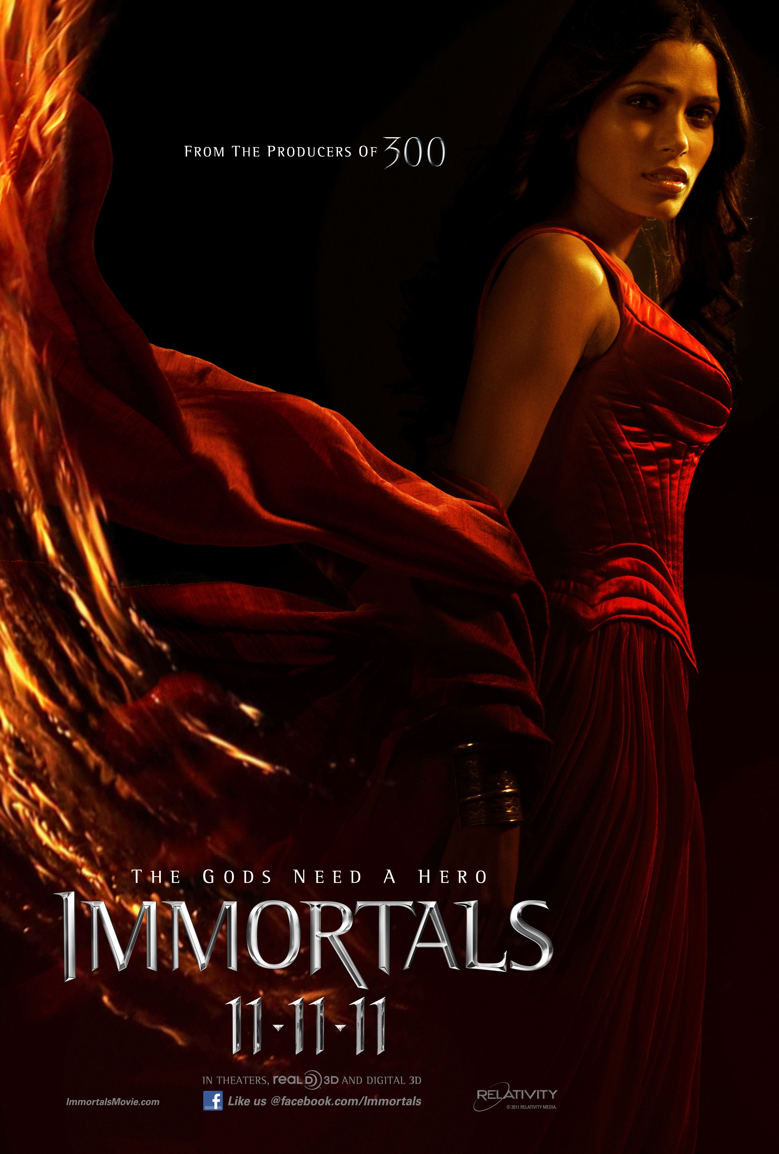 Immortals Movie Poster Immortals Movie Poster Phaedra