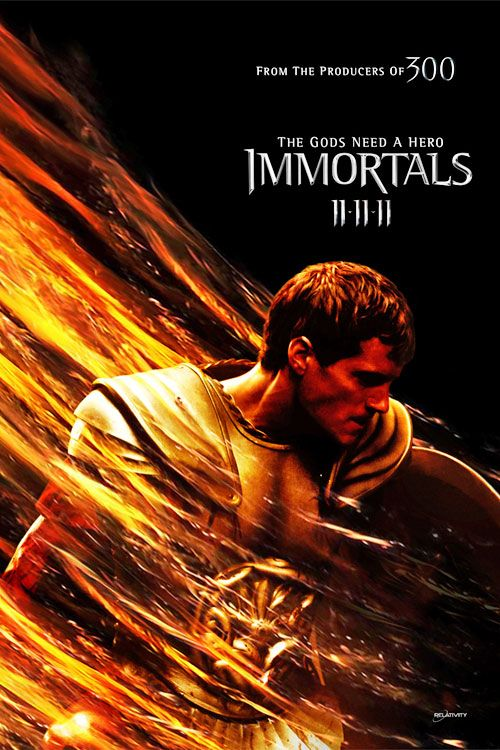 Immortals Movie Theseus Immortals Movie Poster Theseus