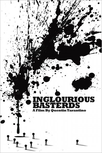 The Lost Art of Inglourious Basterds: Movie Poster by Dora Drimalas