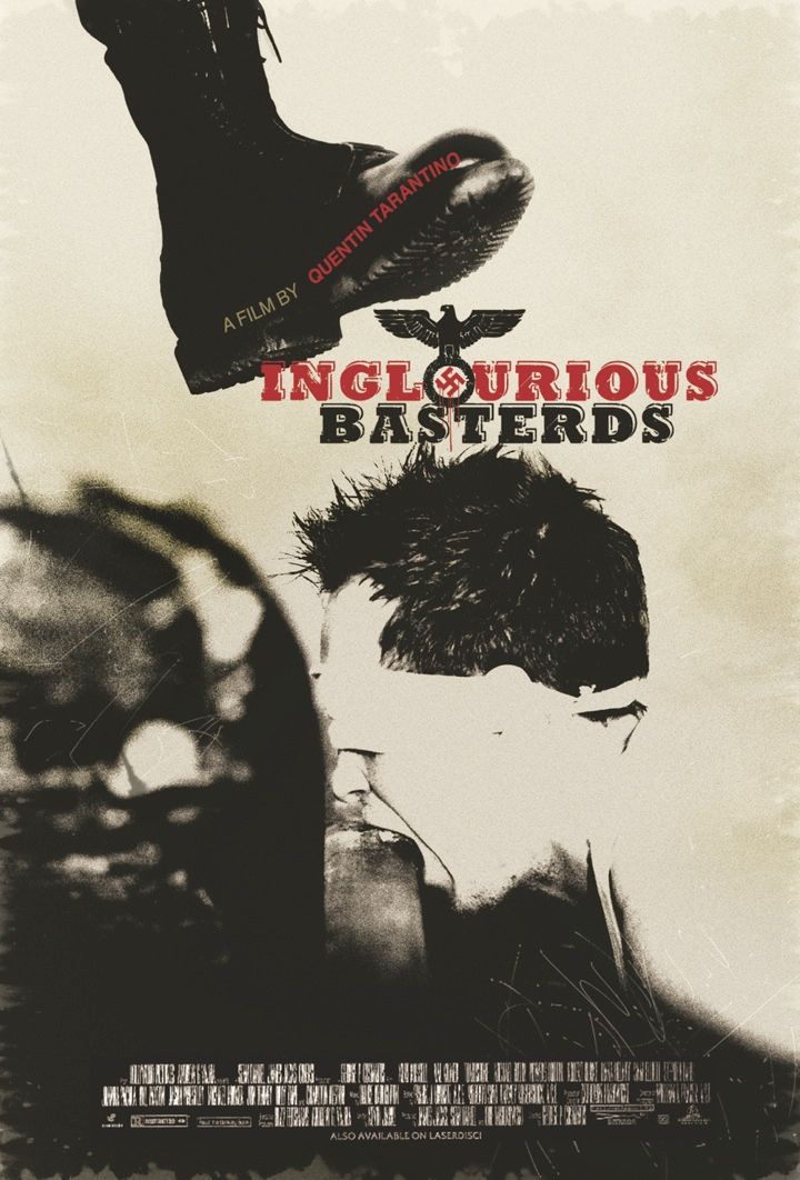 the lost art of inglourious basterds movie poster by estevan oriol