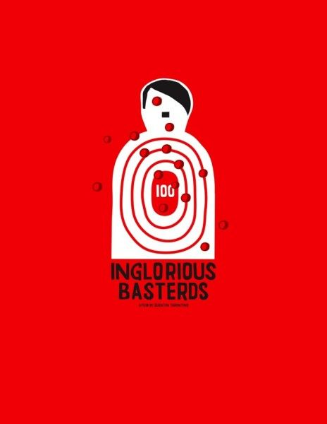 The Lost Art of Inglourious Basterds: Movie Poster by Grotesk