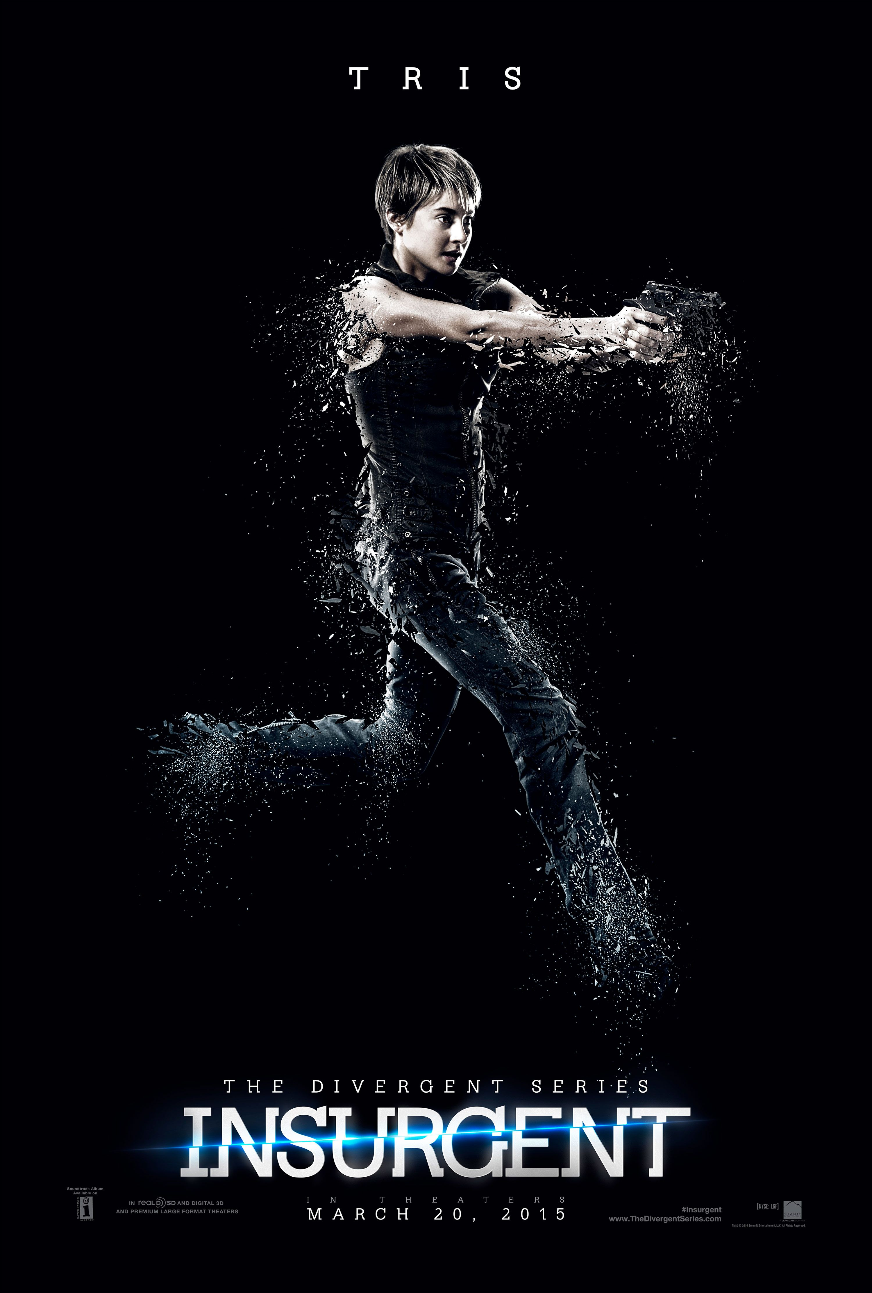 the divergent series insurgent posters for shailene