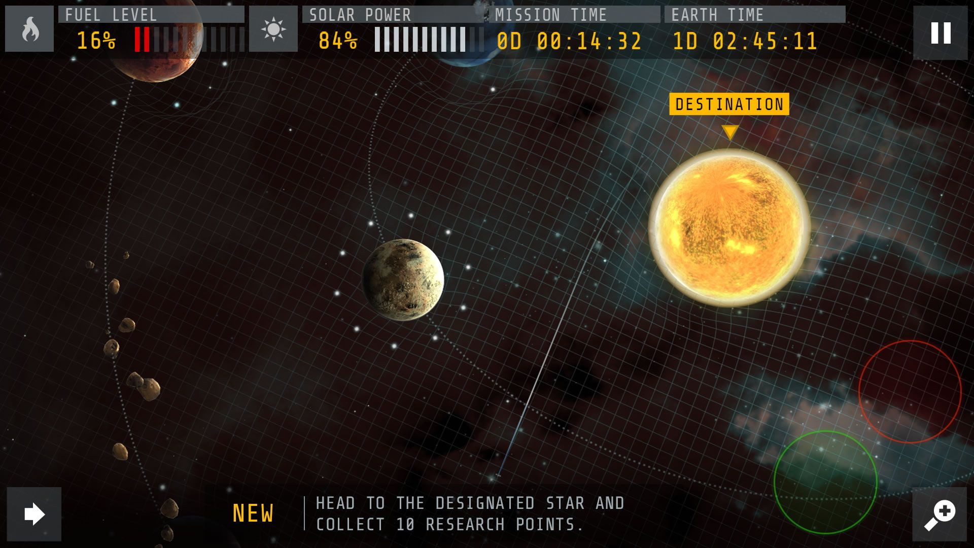 Interstellar App Images Showcase the Movie's Mobile Game | Collider