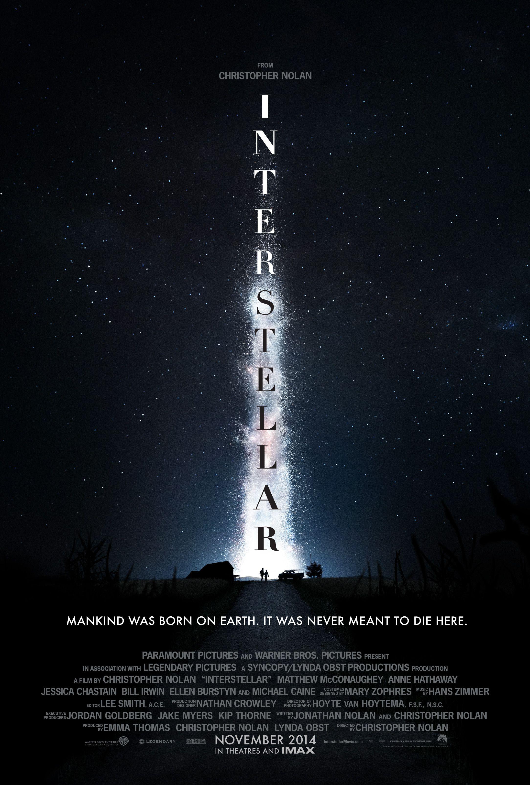 Interstellar Poster INTERSTELLAR Poster. I...