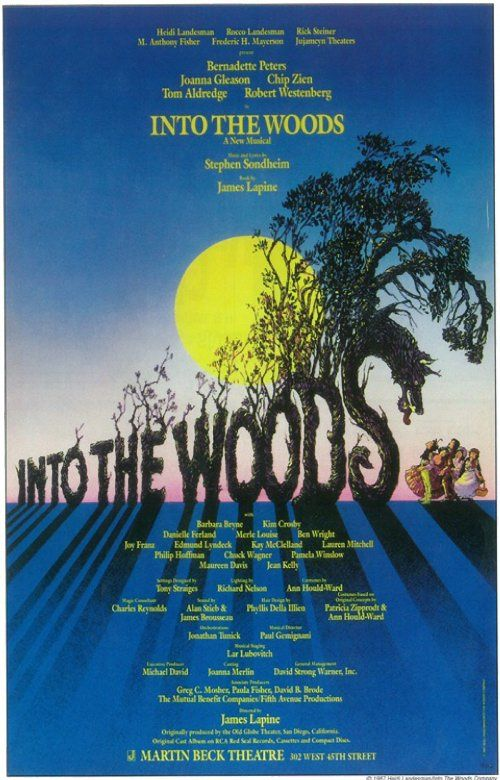INTO THE WOODS Production Begins. INTO THE WOODS Stars ...