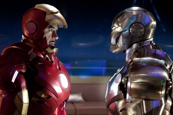 Iorn Man and War Machine Iron Man 2