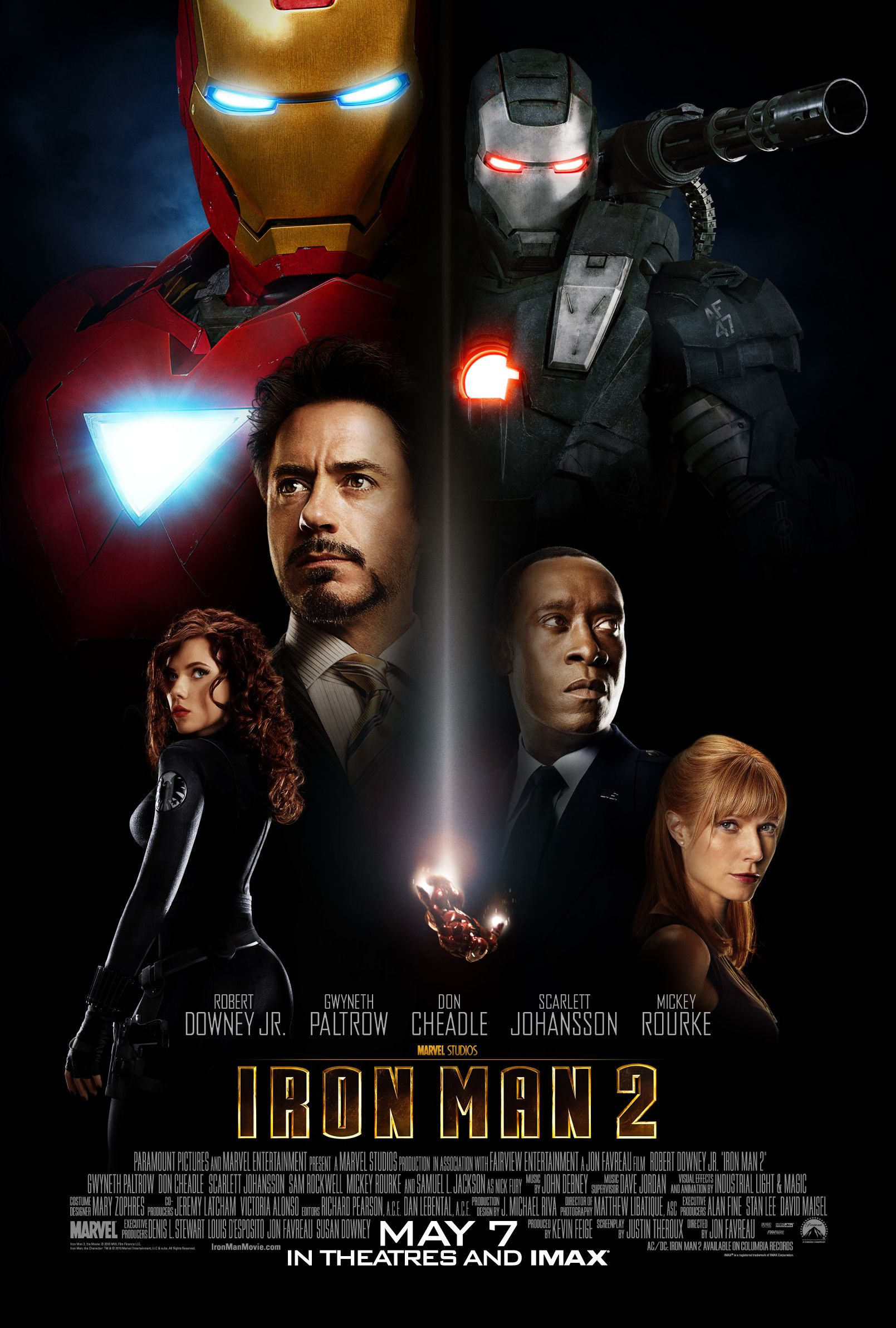 Weekend Box Office IRON MAN 2 Takes Off With 1336 Million 300