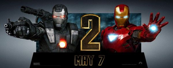 Iron Man 2 horizontal standee