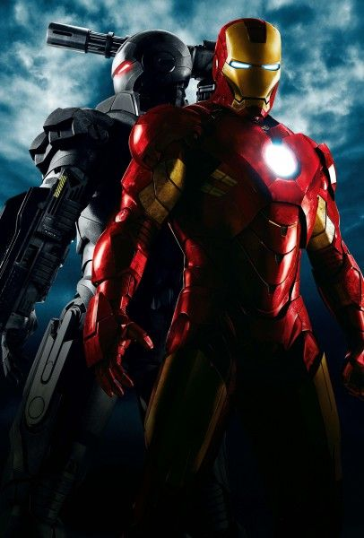 Iron Man 2 movie image War Machine and Iron Man