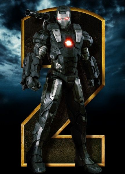 Iron Man 2_Standee_War machine