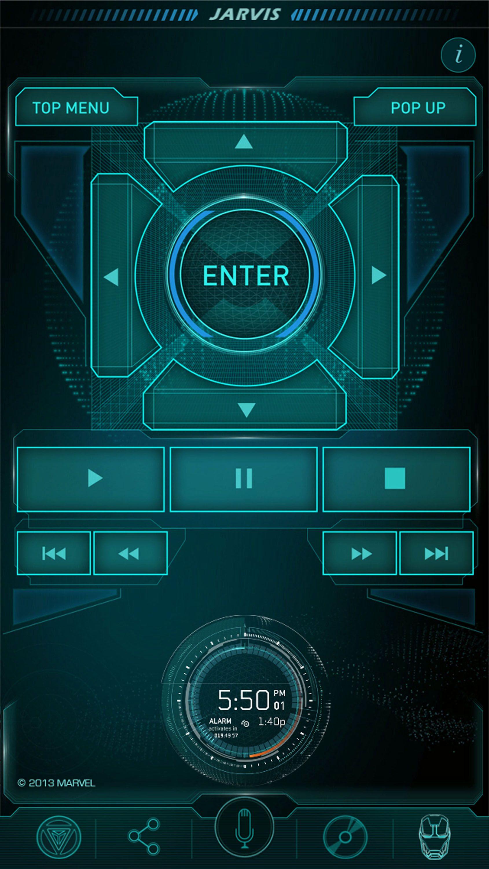 iron man 3 app jarvis remote