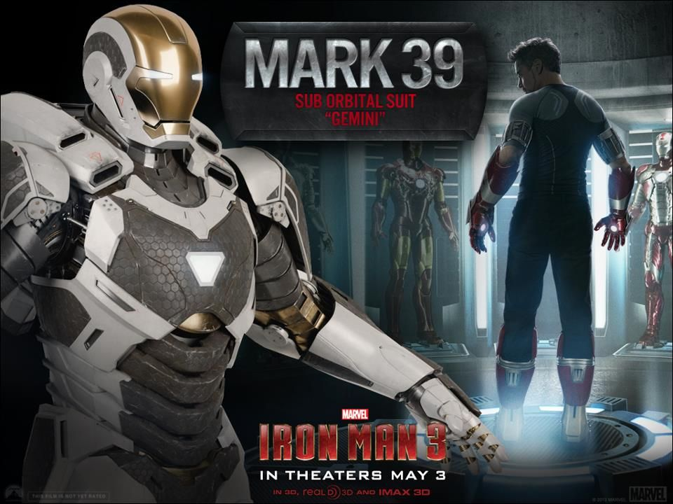 Iron Man 3 Armor Images For Gemini And Red Snapper Suits Collider