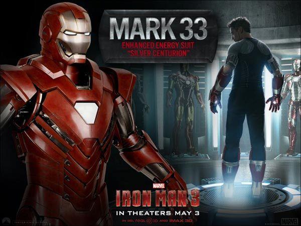 iron man 3 silver centurion armor