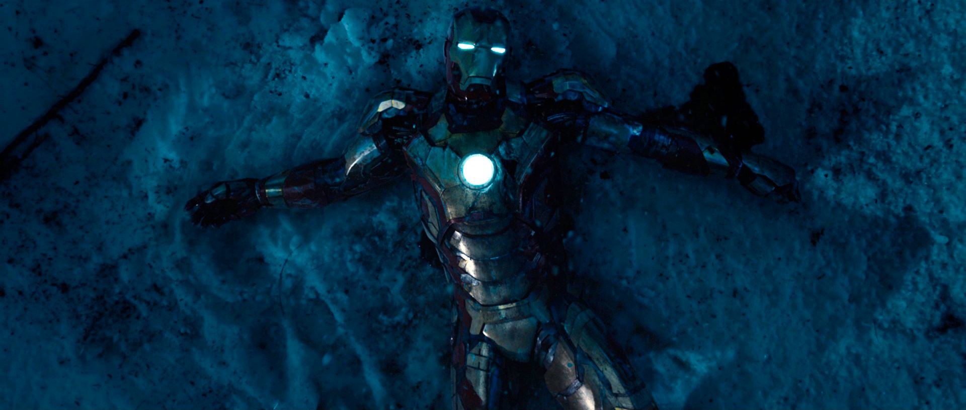 Image result for iron man 3 snow 600x200