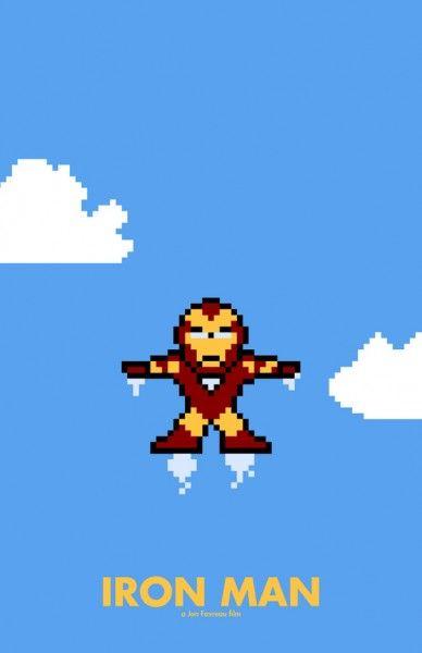 iron-man-8-bit-poster