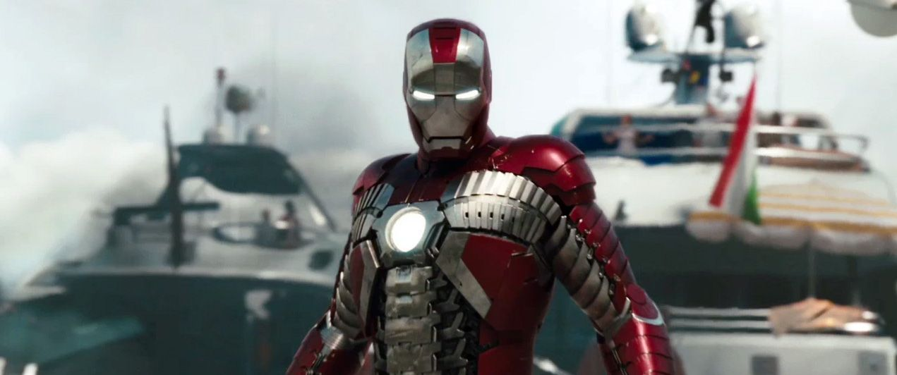 Official IRON MAN 2 Website Launches; New IMAX Trailer ...