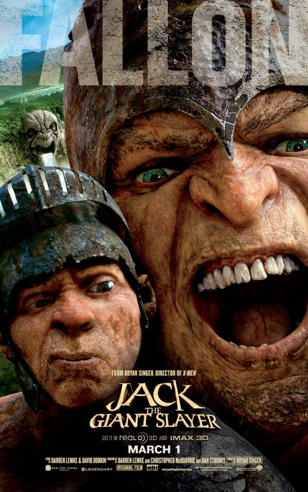 Jack the giant slayer posters feature fearsome giants for Poster giganti