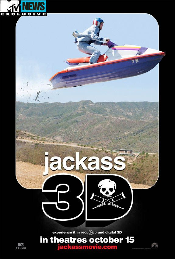 Jackass The Movie Poster