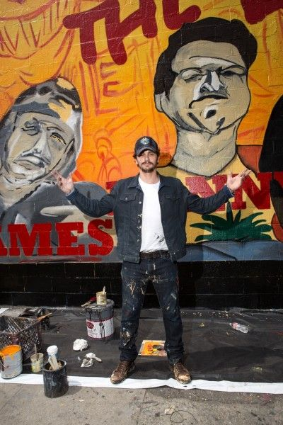 james franco this is the end mural 4