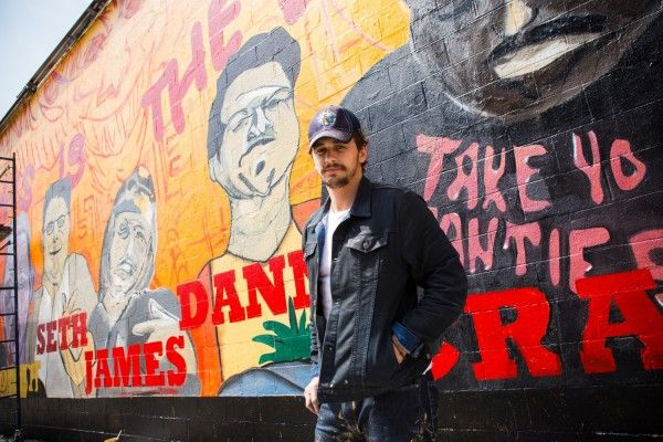 james franco this is the end mural 5