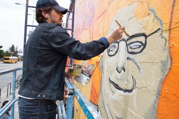 james franco this is the end mural