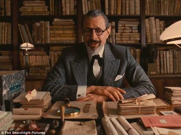 jeff goldblum the grand budapest hotel