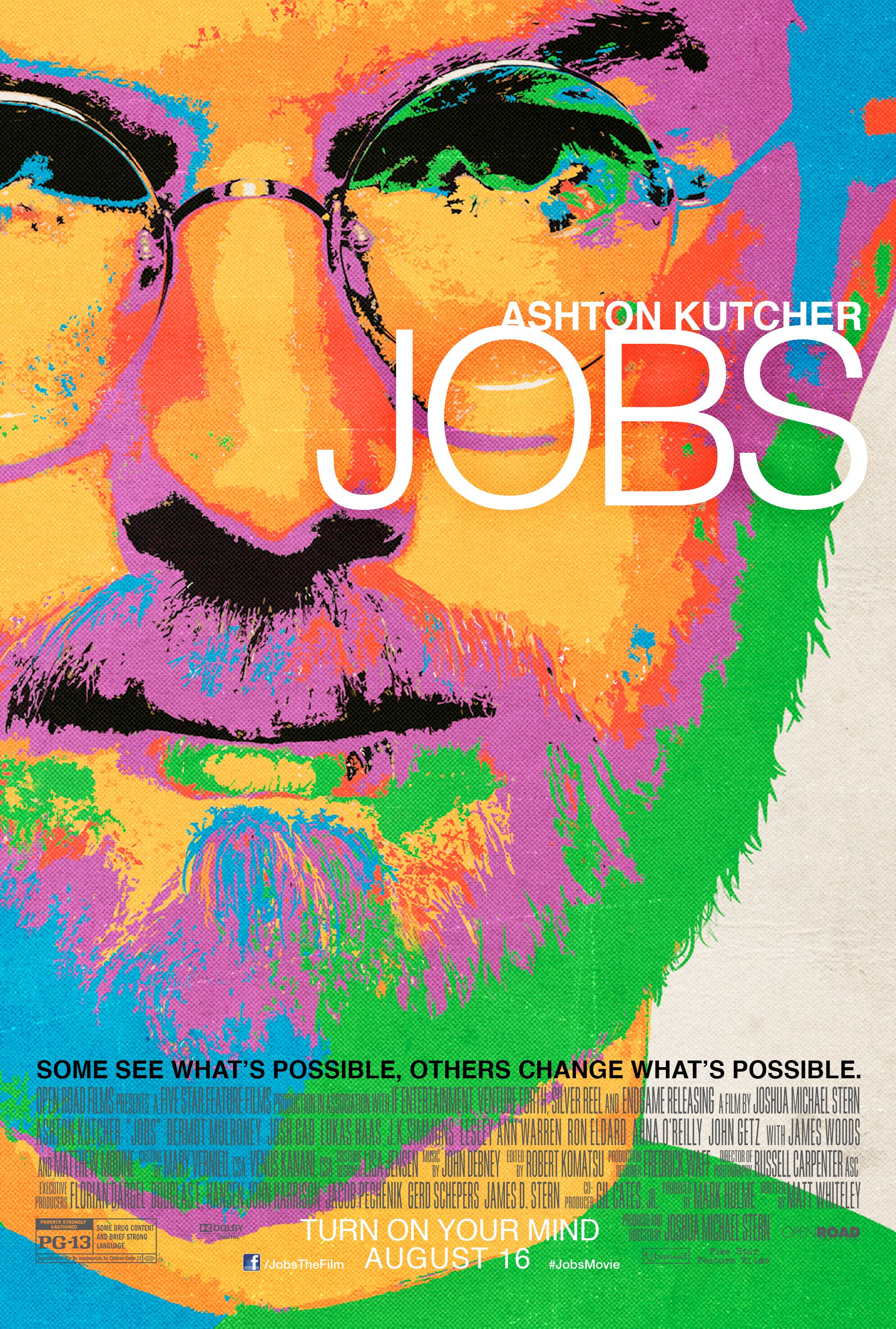 jobs interview joshua michael stern talks casting ashton kutcher steve jobs being who he is how tough was it to get the financing together to get this film made or was it easy because of the subject