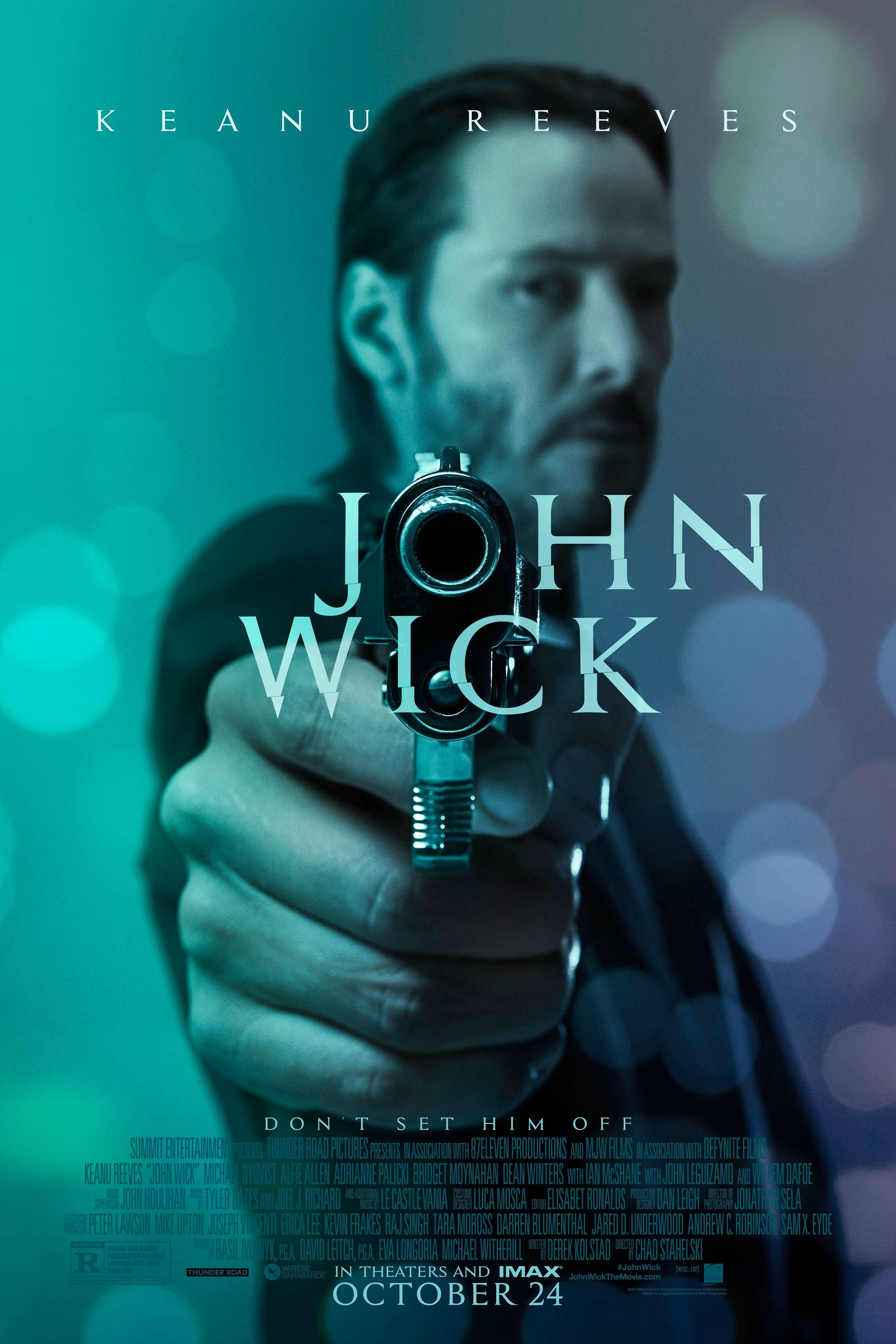 Image result for John Wick poster