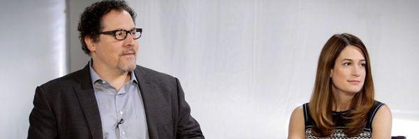 gillian-flynn-jon-favreau-interview-oscars